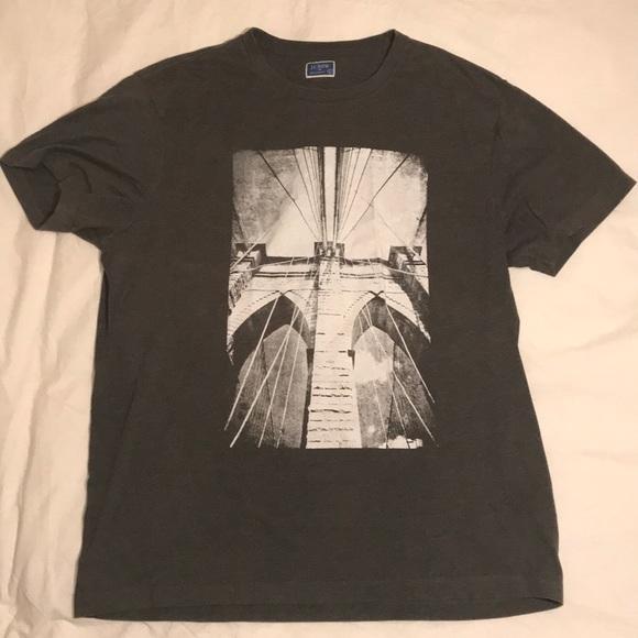 d8819f04 J. Crew Shirts   J Crew Graphic Tee Brooklyn Bridge   Poshmark
